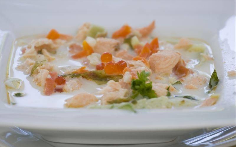 Smak Pomorza: zupa bursztynowa